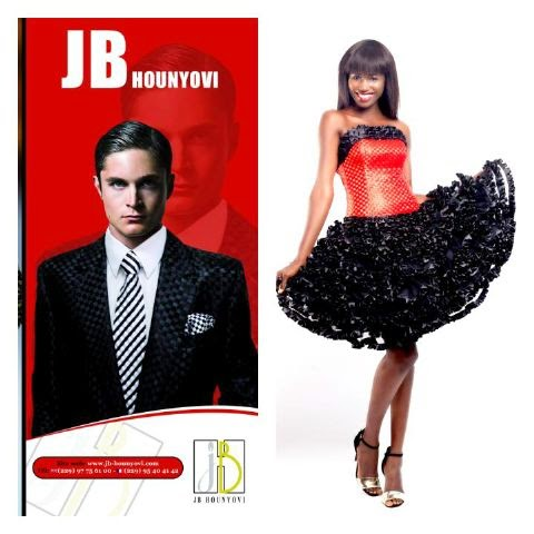 JB Hounyovi couture from uniquely pleated fabric crafted just for you.