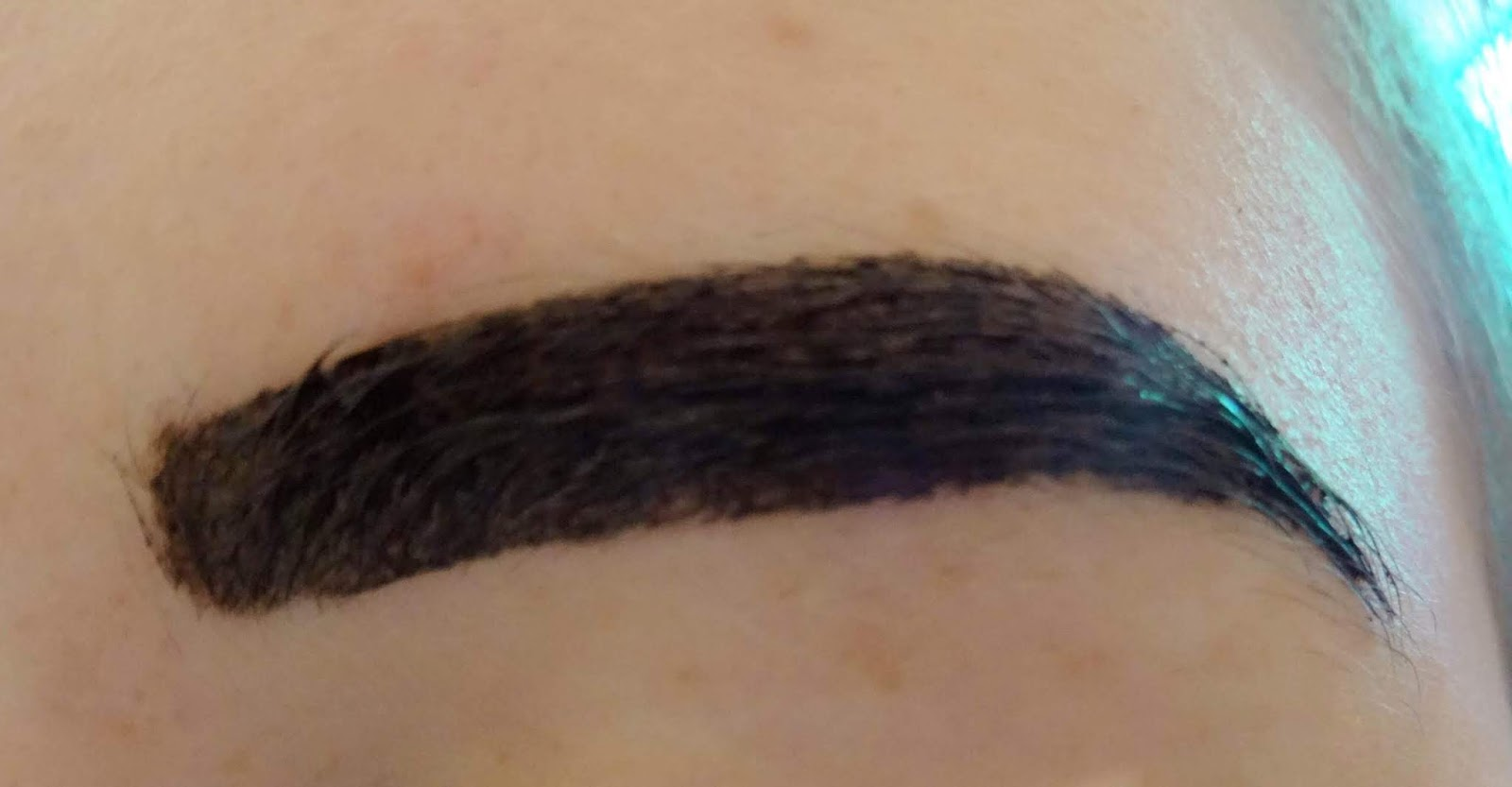 Maybelline Brow Tattoo Before Photo