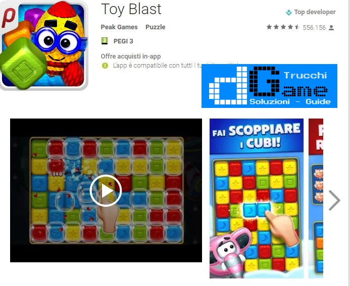 Soluzioni Toy Blast  livello 411 412 413 414 415 416 417 418 419 420 | Trucchi e  Walkthrough level