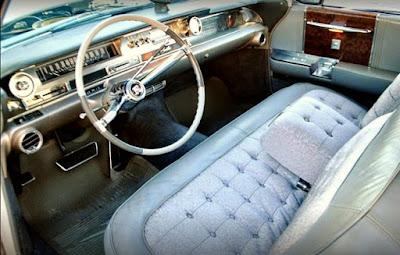 1962 Cadillac Fleetwood Sixty Interior Cabin