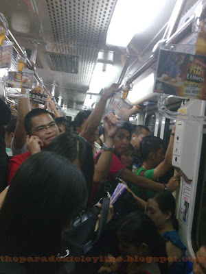MRT is crowded