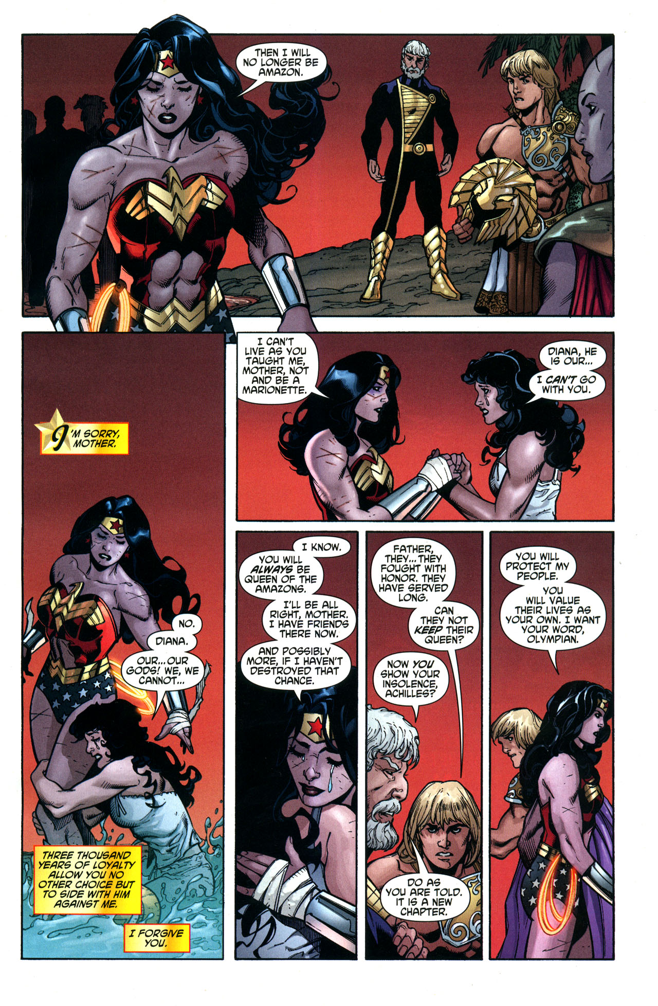 Read online Wonder Woman (2006) comic -  Issue #33 - 22