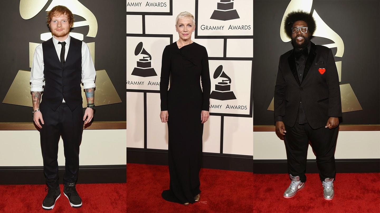 Ed Sheeran, Annie Lennox, Questlove