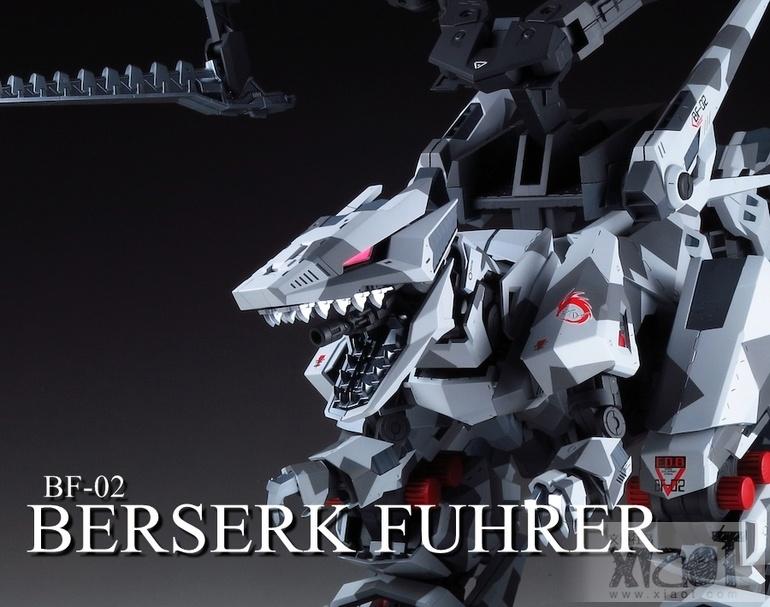 MECHA GUY: ZOIDS HMM Series 1/72 Berserk Fuhrer - Painted Build