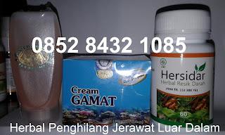 Cream gamat emas/gold pemutih wajah penghilang bekas jerawat herbal tradisional