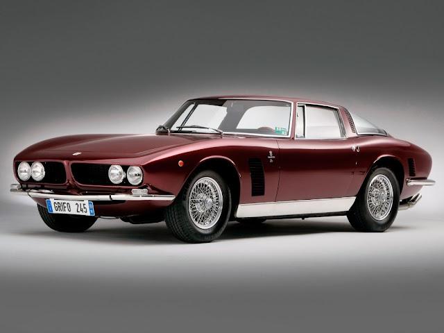 Iso Grifo 1960s Italian classic sports car