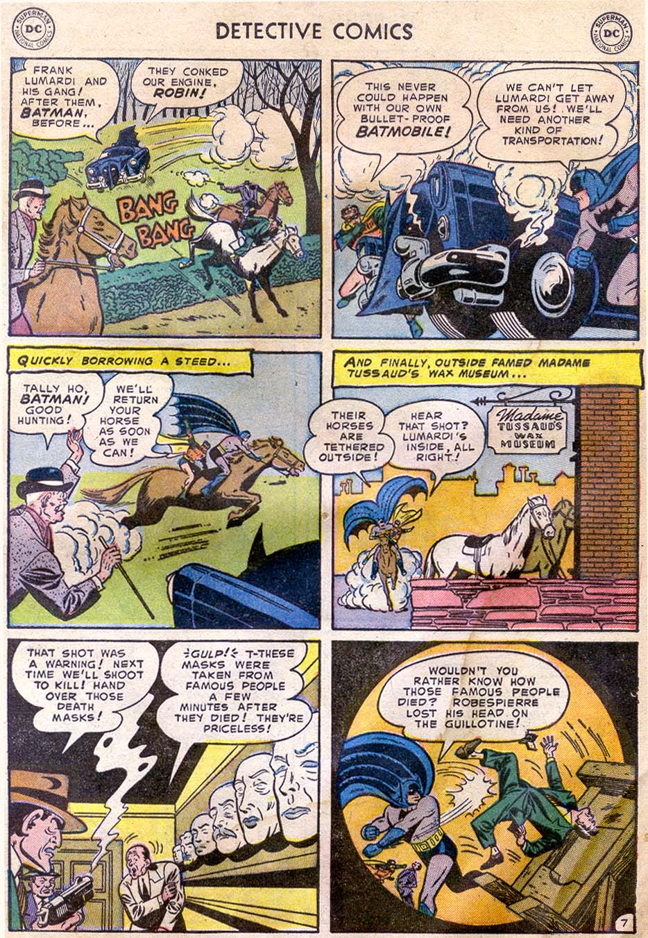 Read online Detective Comics (1937) comic -  Issue #196 - 9