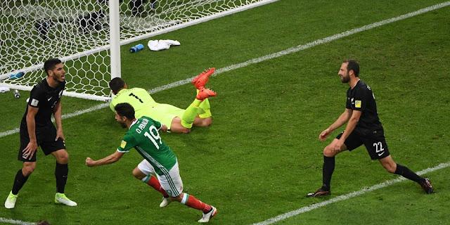 Meksiko vs Rusia