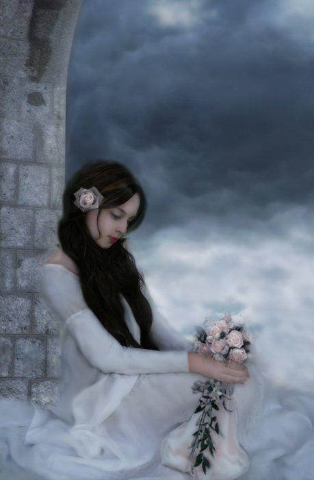 Cute Wedding Cartoon Wallpaper Sad Girl Life Time Photography