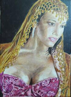acrilico sobre lienzo, artista J Marin, Pintor Jorge A. Marin
