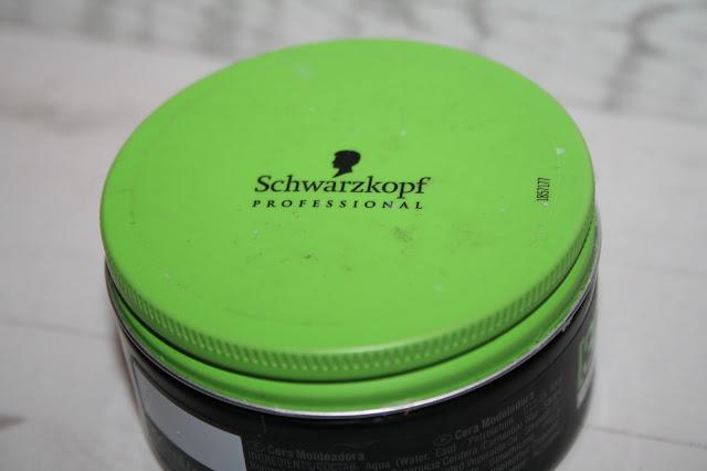 Schwarzkopf 3D Molding Wax