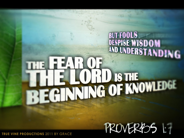 Proverbs 1:7 Wallpaper HD
