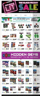 EB Games Canada Flyer November 24 – 27, 2017 Black Friday