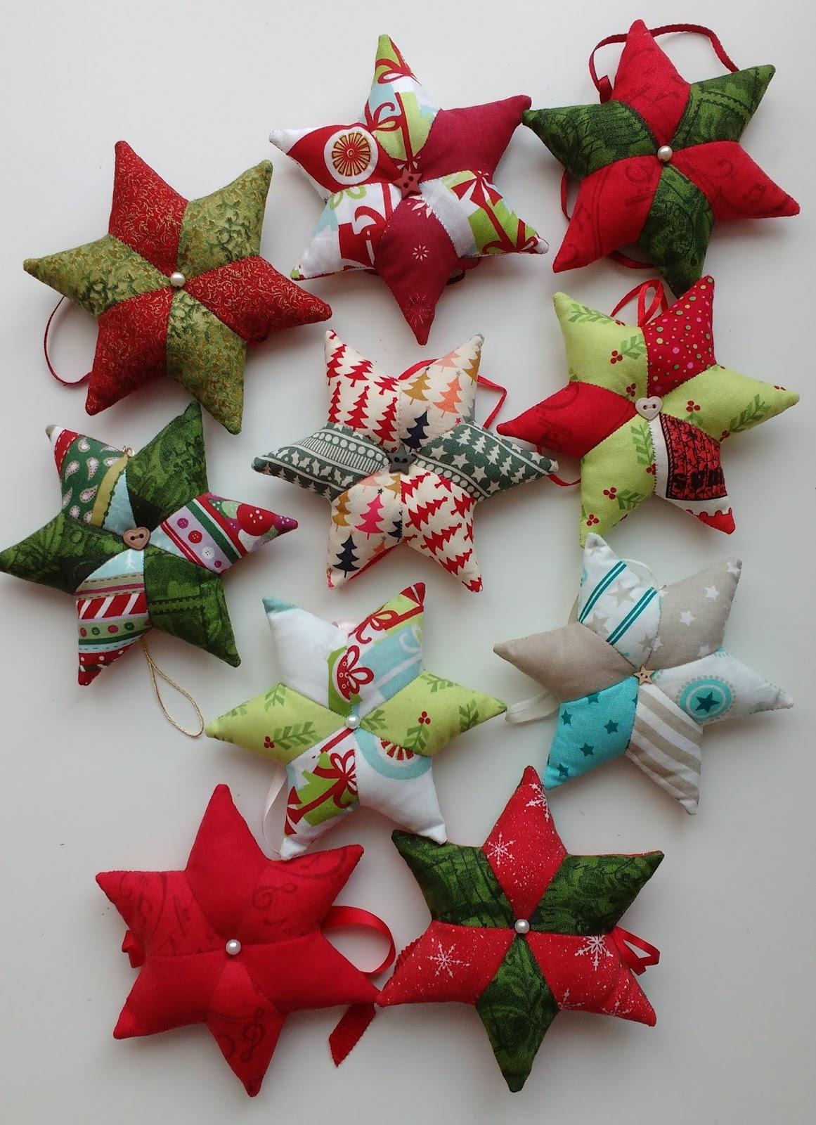 Ich brauch stoff tutorial stoff sterne selber n hen - Weihnachtsdeko nahen ...