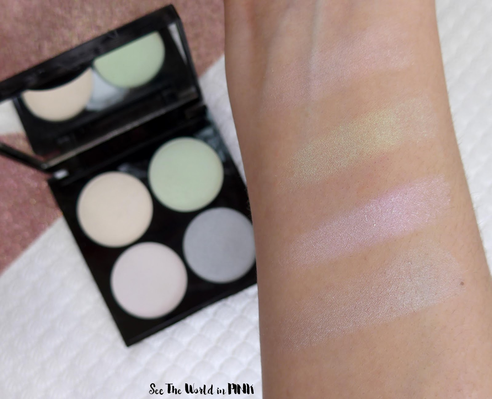Revlon Mythical Lights Ethereal Makeup Look & Product Swatches