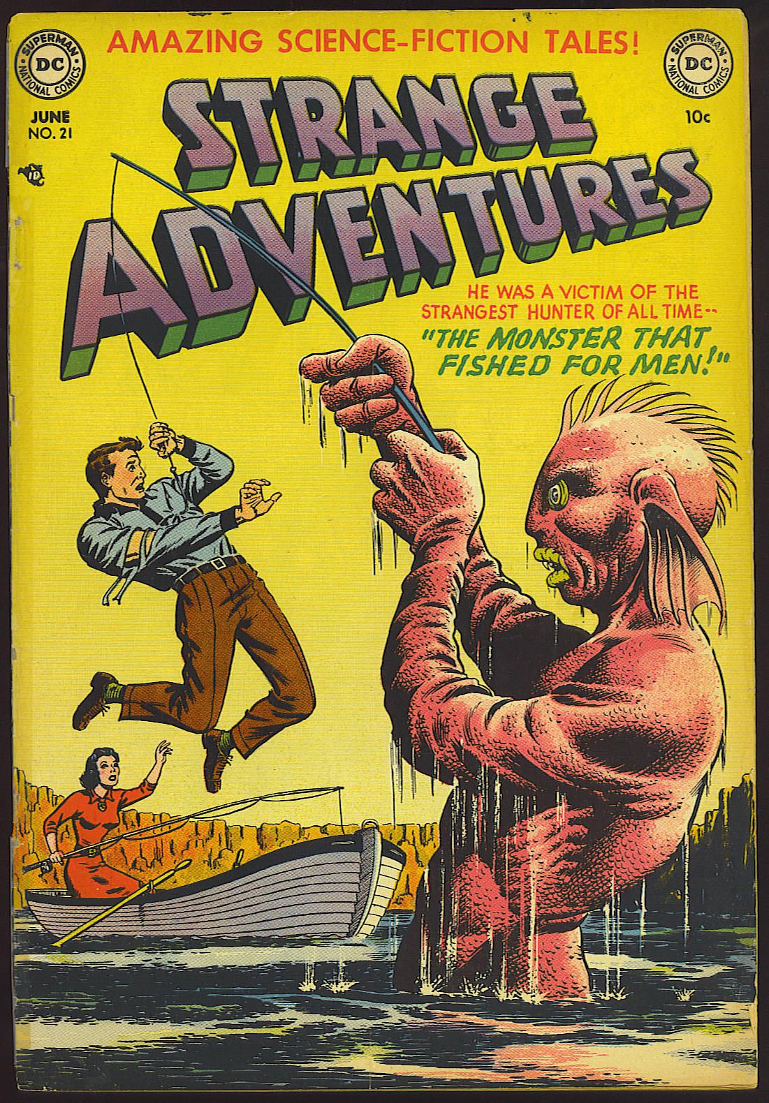 Strange Adventures (1950) issue 21 - Page 1