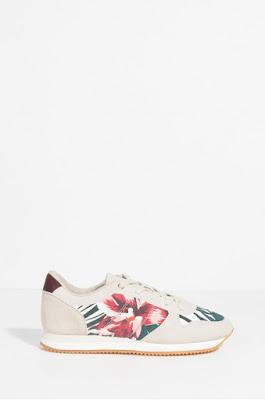 Parfois - Pantofi sport de dama moderni cu imprimeu floral