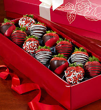 Valentine's Strawberry Box
