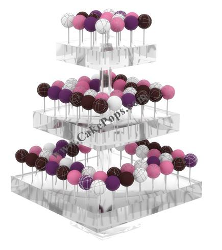 Acrylic Cake Pop Displays