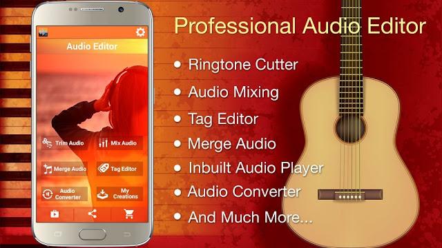 تحميل Audio MP3 Cutter Mix Converter PRO,