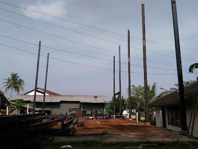 Proyek kontruksi WF Malang