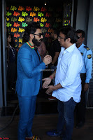 Ranveer Singh in Blue Blazer Spotted Life Bar ~  Exclusive 10.JPG