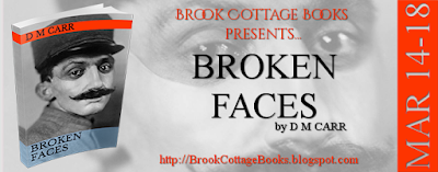 French Village Diaries book review Broken Faces DM Carr Brook Cottage Book Tours