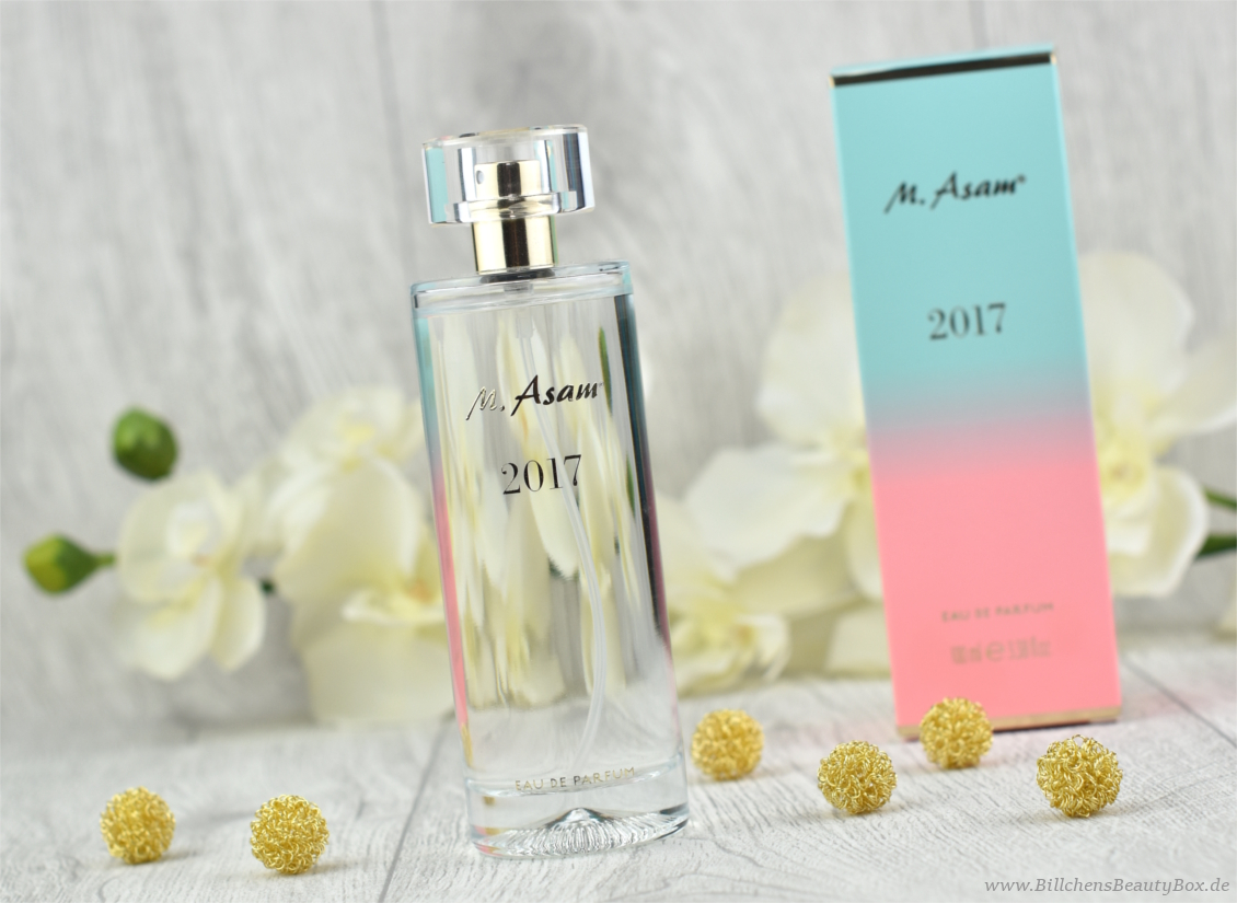 M. Asam - Jahresduft 2017 -  Eau de Parfum - Review und Duftbeschreibung