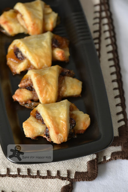 cream cheese chocolate cranberry Rugelach Barefoot Contessa