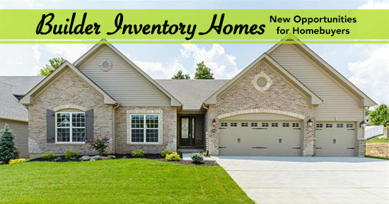 St. Louis Area Builder Inventory Homes Offer Opportunities for Homebuyers