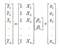 Notasi Matrix Regresi