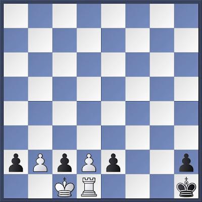 Mate de fantasía, si las blancas juegan legalmente darán mate en 3 jugadas