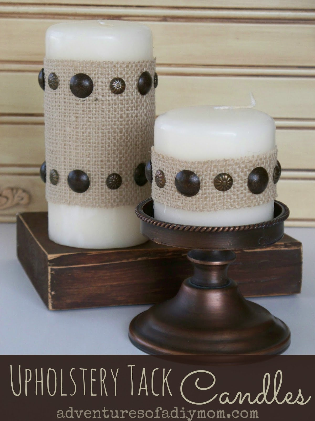 Uphostery Tack Candles