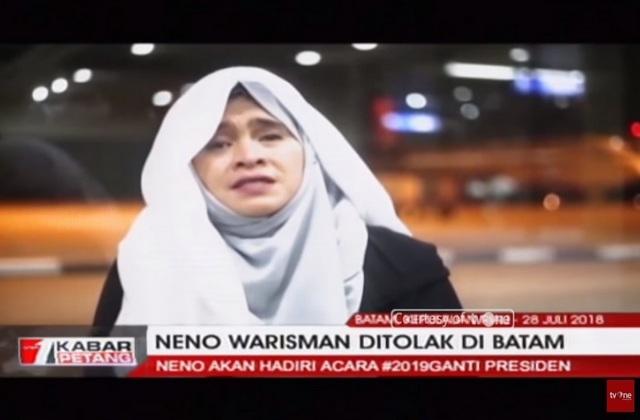 "Neno Warisman: ""Bila saya mati, insya Allah syahid"""