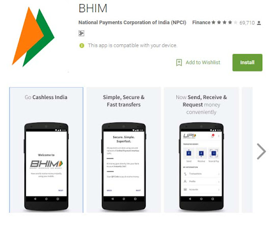 How to make and receive payments using BHIM app
