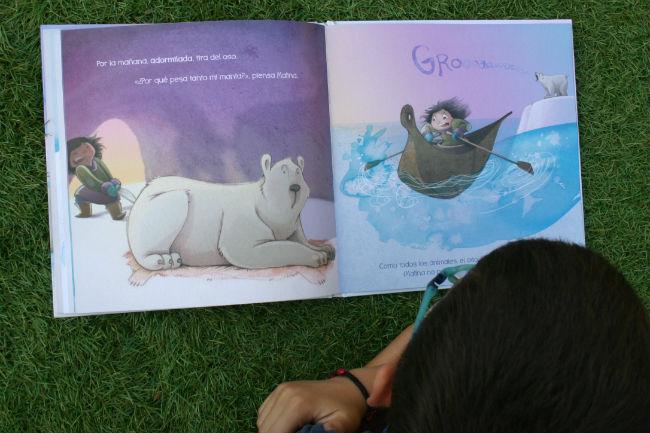 libro infantil Malina pies fríos