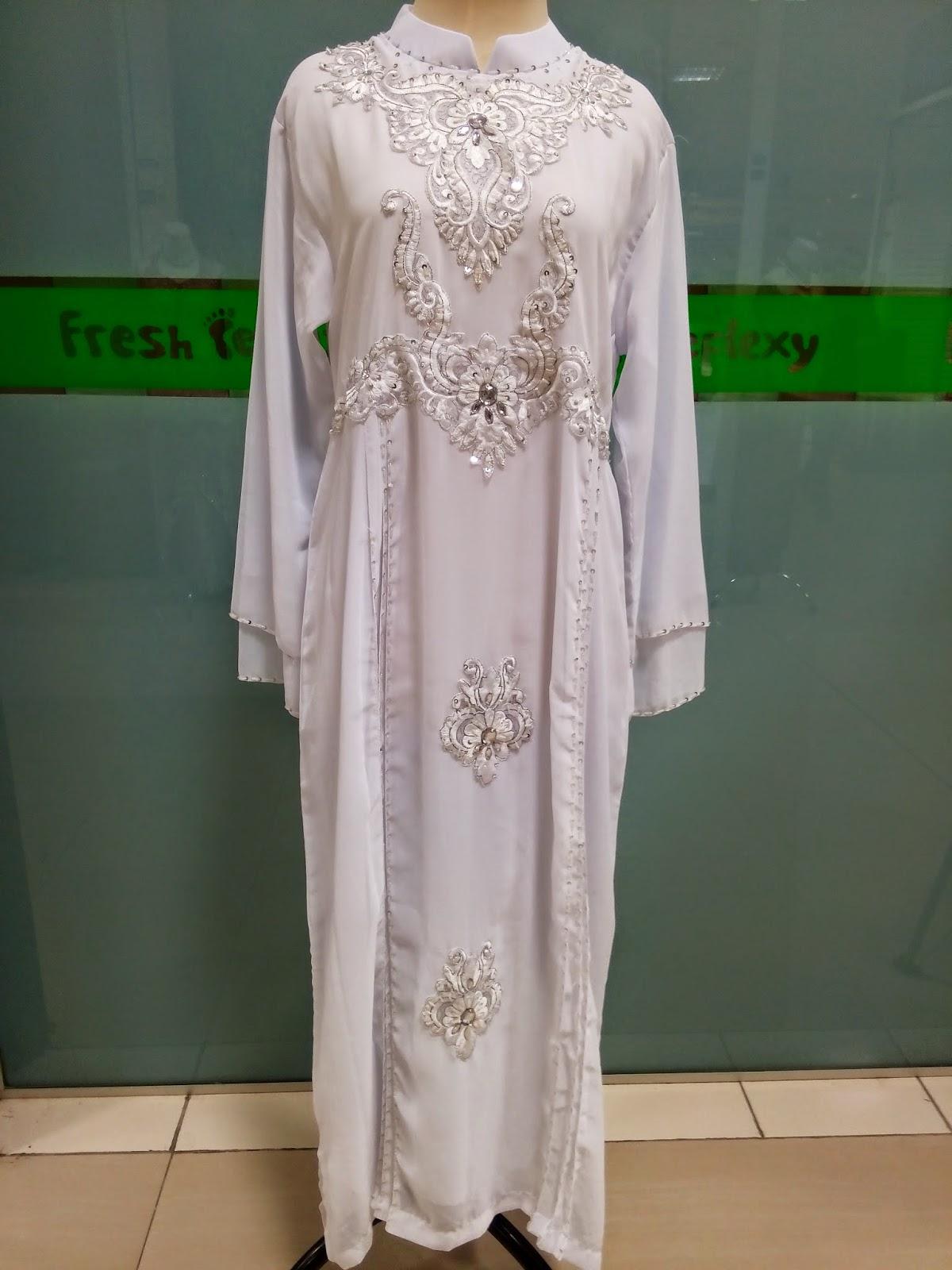 Model Gamis Putih Grosir Surabaya