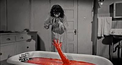 The Tingler (1959) renkli sahne