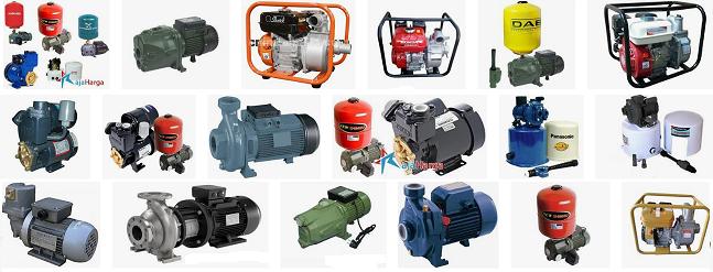 macam-macam pompa air listrik