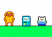 Adventure Time platformer