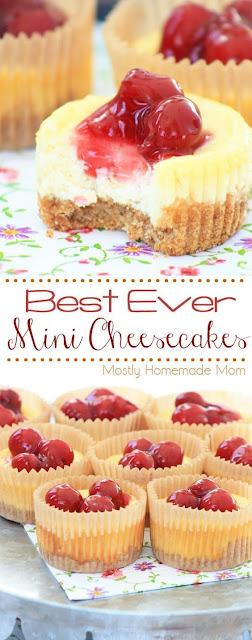 A Mini Cheesecake Recipe