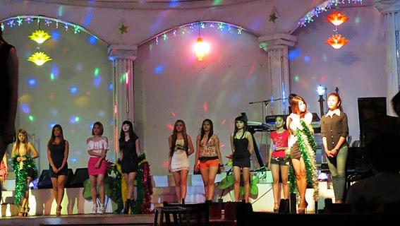 Show time in Yangon Power Light Club