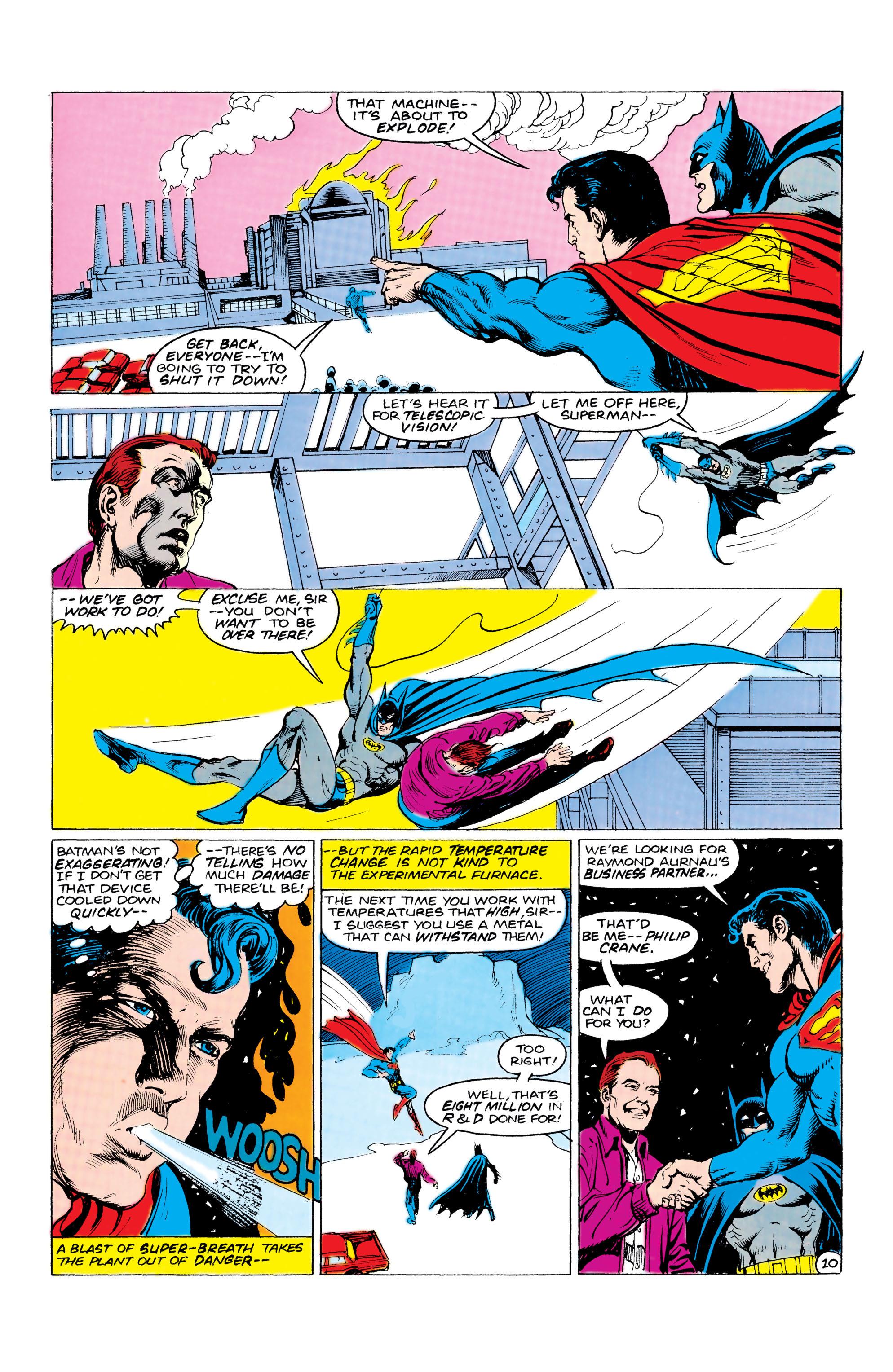 Read online World's Finest Comics comic -  Issue #309 - 11