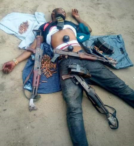 Member Of Notorious Kidnap Gang Meets His Wateloo In Delta, See Weapons Recovered
