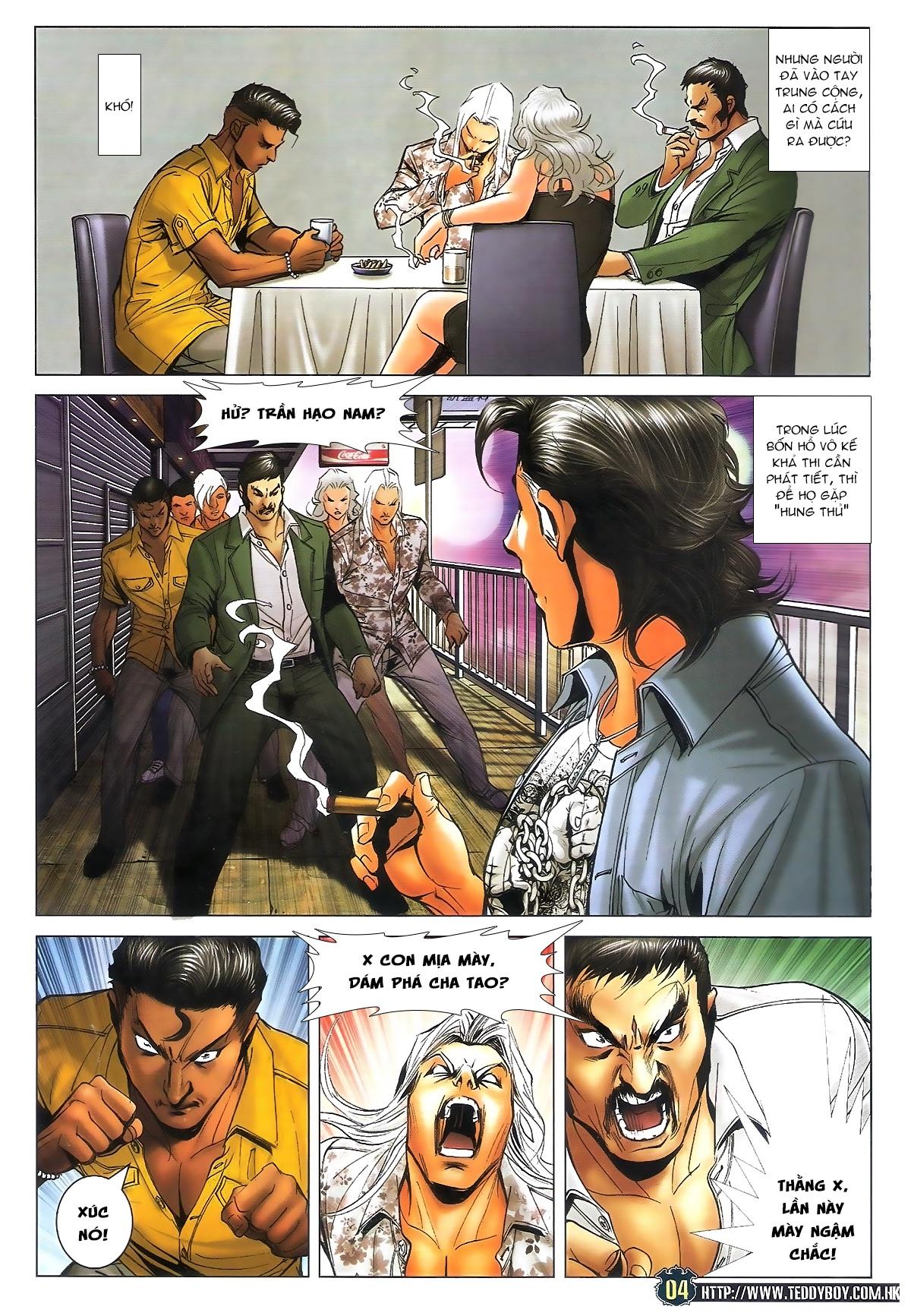 Người Trong Giang Hồ - Ngũ Hổ qui thiên - Chapter 1712: Đông Anh rúng động - Pic 3