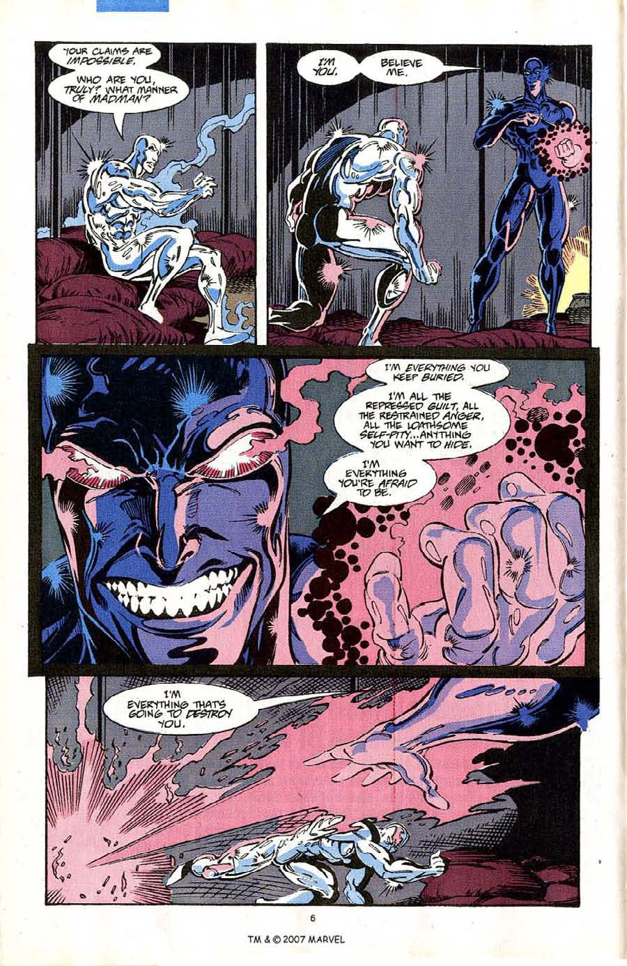Read online Silver Surfer (1987) comic -  Issue #64 - 8