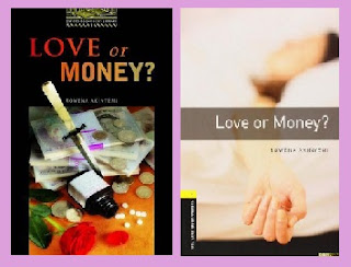 portadas del libro de intriga Love or money?