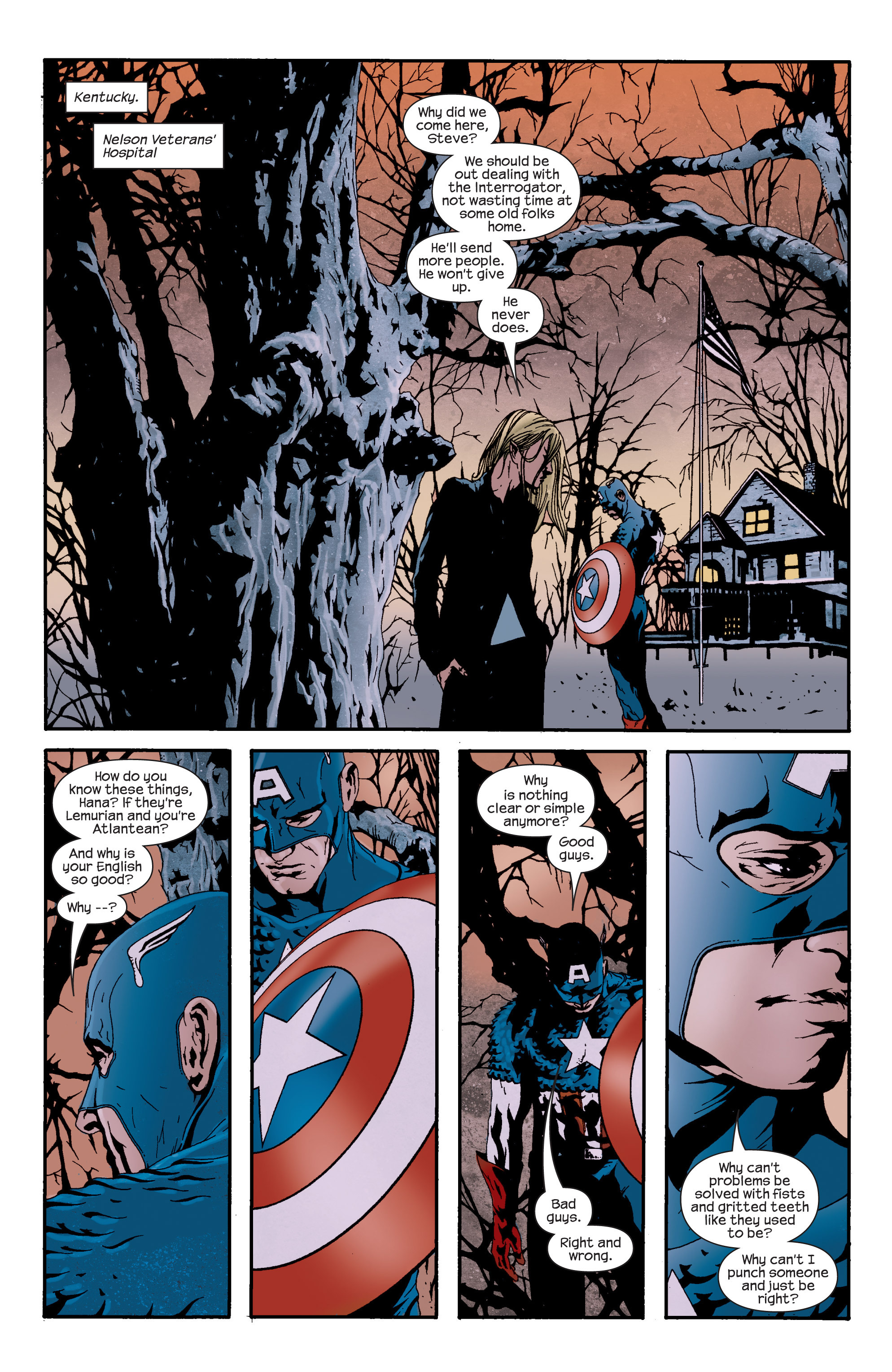 Captain America (2002) Issue #14 #15 - English 8