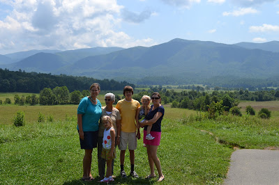 Beautiful Photo Op in Cades Cove