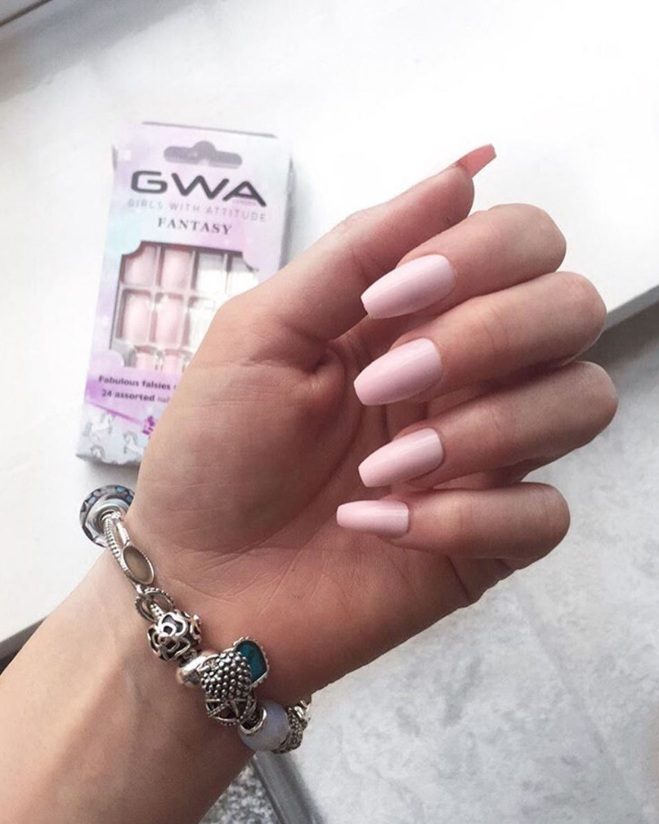 Perfect Valentines Day Nails from Girls With Attitude